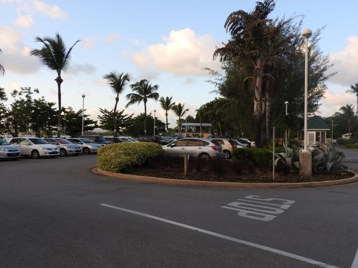 Hilton Barbados Resort, Main Parking Area