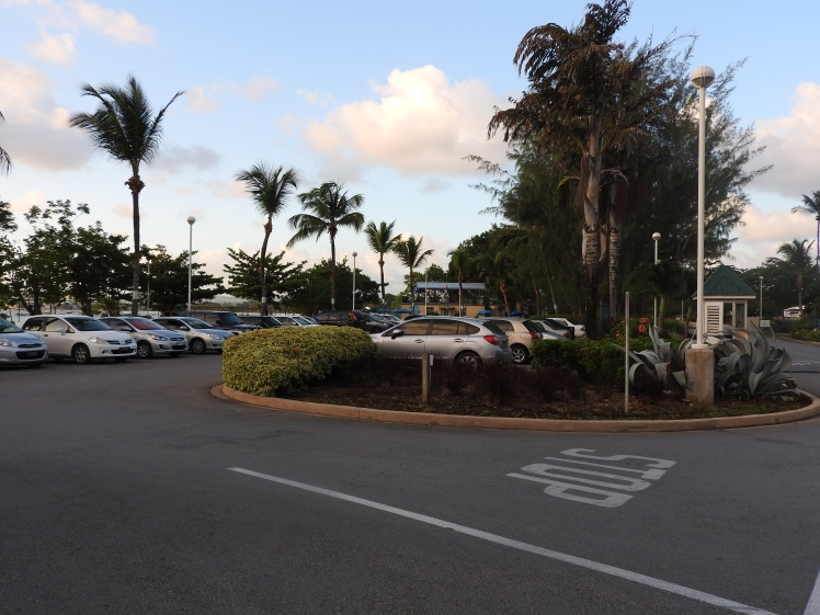 Hilton Barbados Resort, Main Parking Area